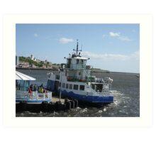 Ferry Landing  Art Print