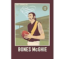 Bones McGhie - Richmond [dark shirt version] Photographic Print