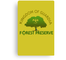 Guardia Forest Preserve Canvas Print