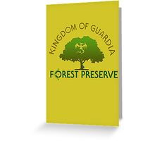 Guardia Forest Preserve Greeting Card