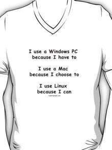 Windows - Mac - Linux T-Shirt