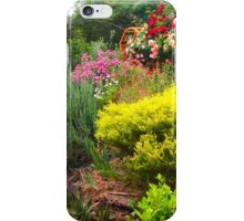 The spring garden Kilmore East VIC Australia iPhone Case/Skin