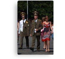 The new Russian army... Canvas Print