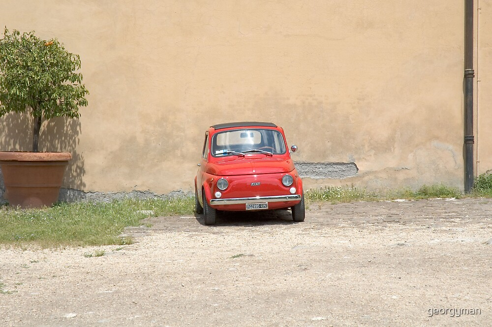 Lonely Fiat by georgyman