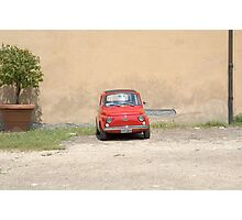 Lonely Fiat Photographic Print