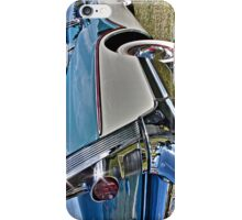 1957 two tone Buick in blue and white iPhone Case/Skin