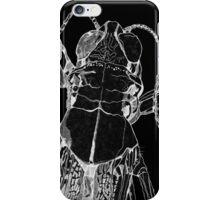 Acrididae White Illustration iPhone Case/Skin