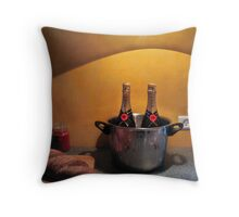 Still Life with Bread Throw Pillow