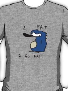 Sanic the Hegehog - 2 FAT 2 GO FAST T-Shirt