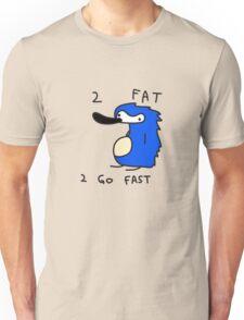 Sanic the Hegehog - 2 FAT 2 GO FAST Unisex T-Shirt