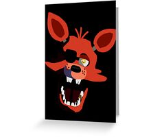 Five Nights At Freddy's Foxy Greeting Card