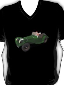 Santa Claus Drives Jaguar SS 90 T-Shirt