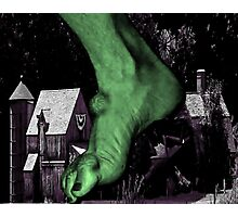 Villagers 0 Ogres 1 Photographic Print