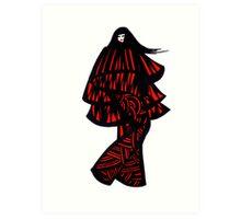 Eskimo girl Art Print