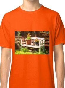 Garden bench Classic T-Shirt