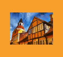 Bell tower in Faaborg Funen Denmark Unisex T-Shirt