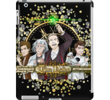But That All Changed When The Time Nation Attacked! iPad Case/Skin