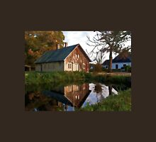 Countryside house at the lake Unisex T-Shirt