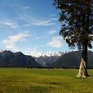 New Zealand Southern Alps by petejsmith