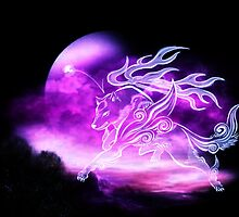 Spirit of Okami by WhistleWolf