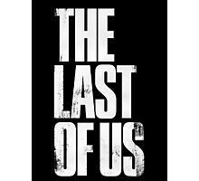 The Last of Us (title) Photographic Print