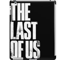 The Last of Us (title) iPad Case/Skin