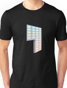 Glitch Homes Wallpaper club light left divide Unisex T-Shirt