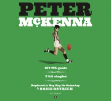Peter McKenna, Collingwood (Hey Hey version) by Chris Rees