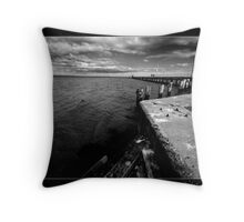 Moordialloc Pier Throw Pillow