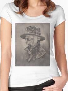 The Invisible Man Women's Fitted Scoop T-Shirt