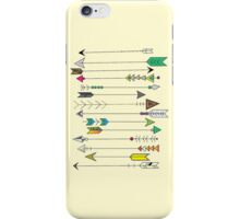 Feather Head Arrows iPhone Case/Skin