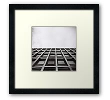 Wall and Sky Framed Print