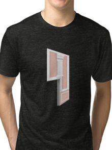 Glitch Homes Wallpaper coralpillar molding left divide Tri-blend T-Shirt