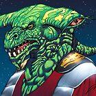 Emperor Alien Monster Art by Al Rio by alrioart
