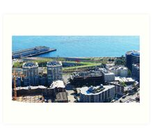 Seattle Water Front 518 Art Print