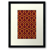 Overlook Hotel Carpet (The Shining)  Framed Print