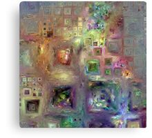 Crystalline Squares 8 Canvas Print