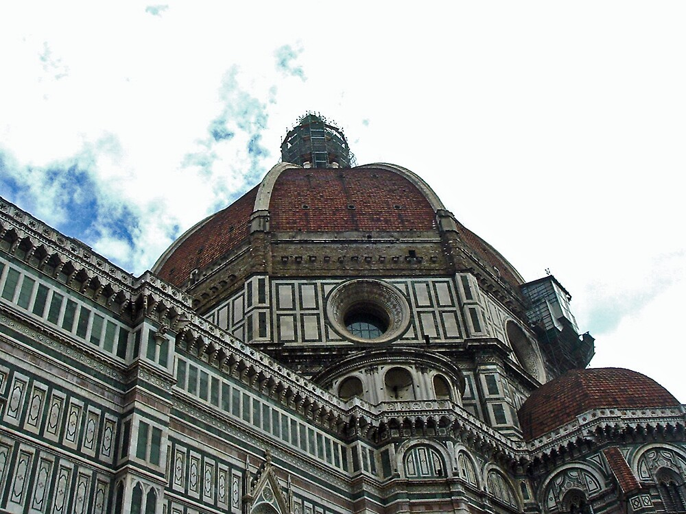 Florence Cathedral Dome by Erika Benoit