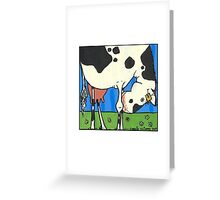 Cow I Greeting Card