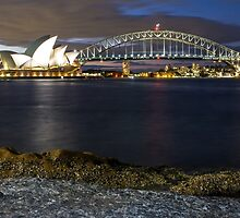 Sydney Harbour by ashercobb
