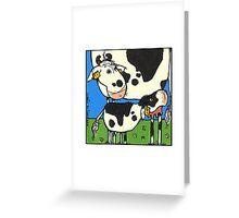 Cow II Greeting Card