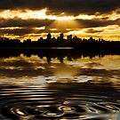 North Sydney sunset by Sheila  Smart