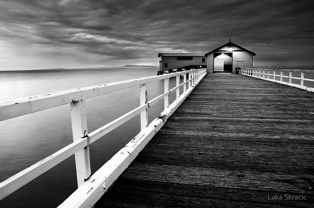 Queenscliff Pier by Luka Skracic
