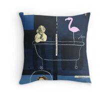 Bathtub Mary Throw Pillow