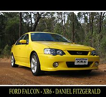 Ford Falcon XR6 by Daniel Fitzgerald