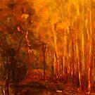 King Parrot Creek, Flowerdale, Vic Australia by Margaret Morgan (Watkins)