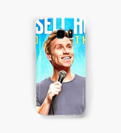 comedian - russell howard Samsung Galaxy Case/Skin