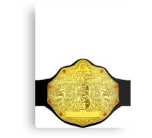 World Heavyweight Champion Metal Print