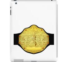 World Heavyweight Champion iPad Case/Skin