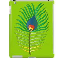peacock feather flame iPad Case/Skin